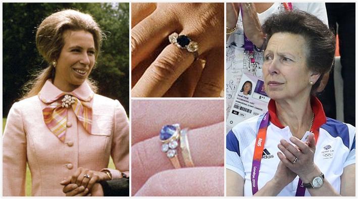 Slavné zásnubní prsteny - Princezna Anna