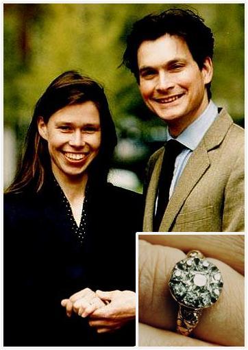 Slavné zásnubní prsteny - Lady Sarah Armstrong-Jones a Daniel Chatto