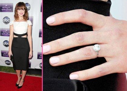 Slavné zásnubní prsteny - Alexis Bledel