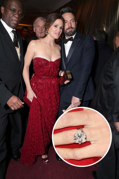 Slavné zásnubní prsteny - Jennifer Garner