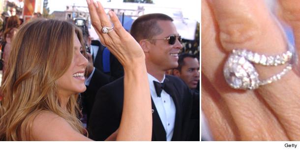 Slavné zásnubní prsteny - Jennifer Aniston