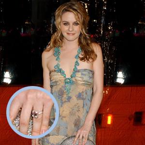 Slavné zásnubní prsteny - Alicia Silverstone