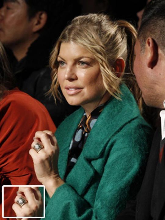 Slavné zásnubní prsteny - Fergie