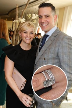 Slavné zásnubní prsteny - Reese Witherspoon