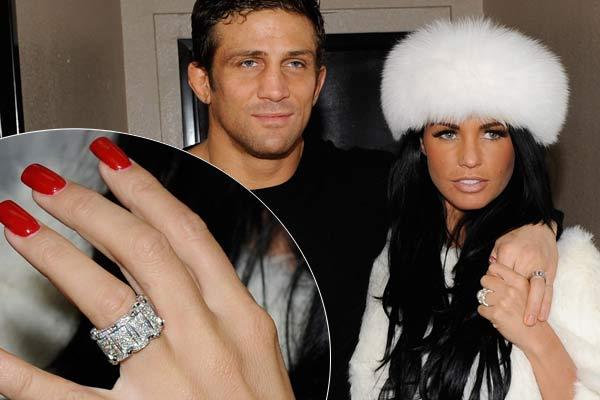 Slavné zásnubní prsteny - Katie Price