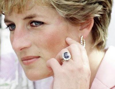 Slavné zásnubní prsteny - Diana