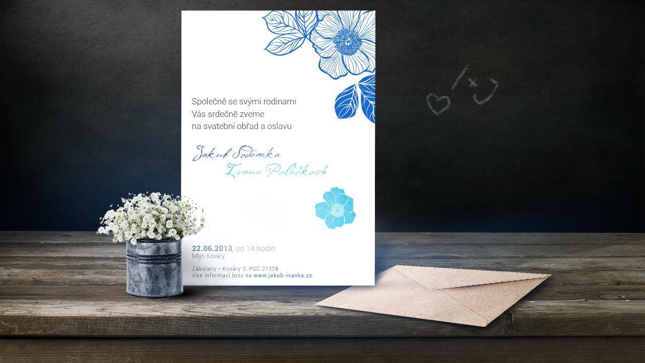 Naše svatební oznámení rozesílané... - Obrázok č. 1