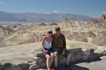 Zabriskie Point v Death Valley