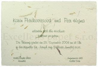 Klasicky cesky, ale nemecky :)