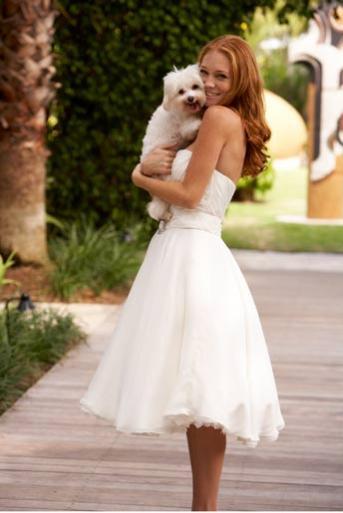 Moje retro svatba v krátkých šatech:-) - Obrázek č. 16