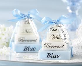 Neco stareho, noveho, pujceneho a modreho s sebou musim mit na ceste k oltari :)