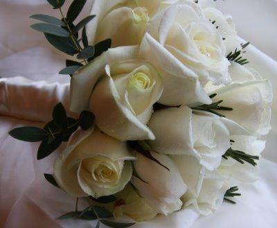 Květiny - bílé růže - Obrázek č. 24
