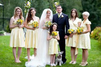S druzickama/ With my bridesmaids