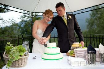 K veceru jsme rozkrojili dort.../ In the evening we cut the cake...