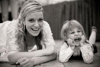 Já a nejmladší svatebčanka :-)