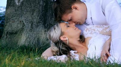 romantika v trávě