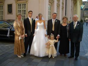 mamička, manžel, ja, ocko, neter, svokra, svokor
