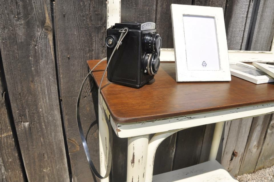 Stolik, foto ram a 3ks male ramiky - Obrázok č. 3