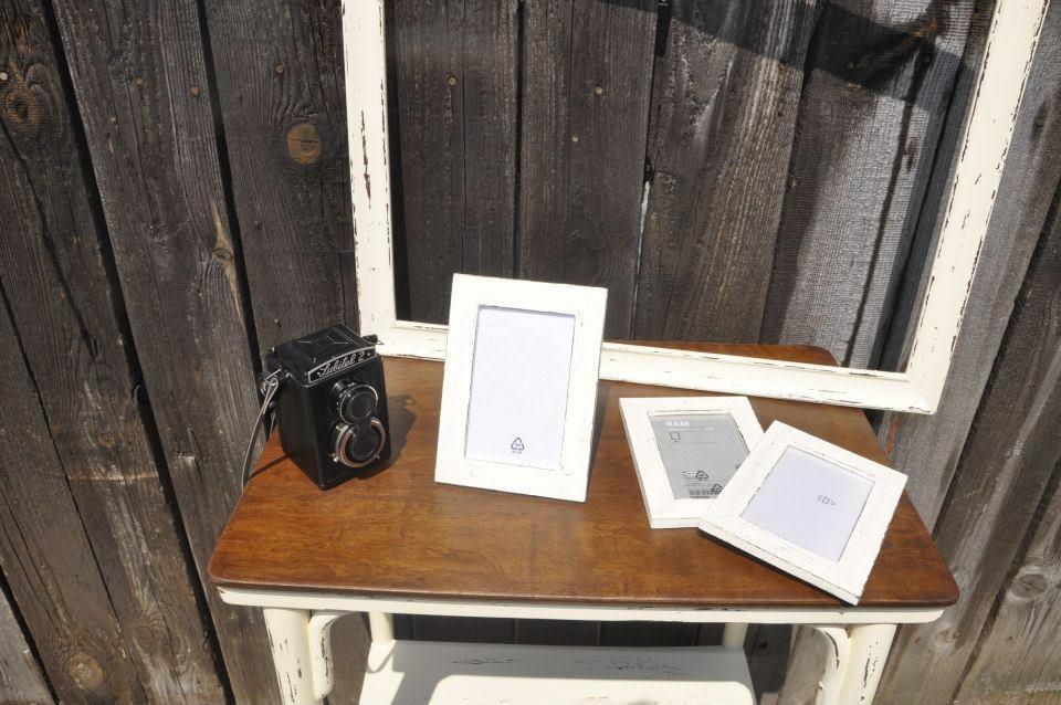 Stolik, foto ram a 3ks male ramiky - Obrázok č. 4