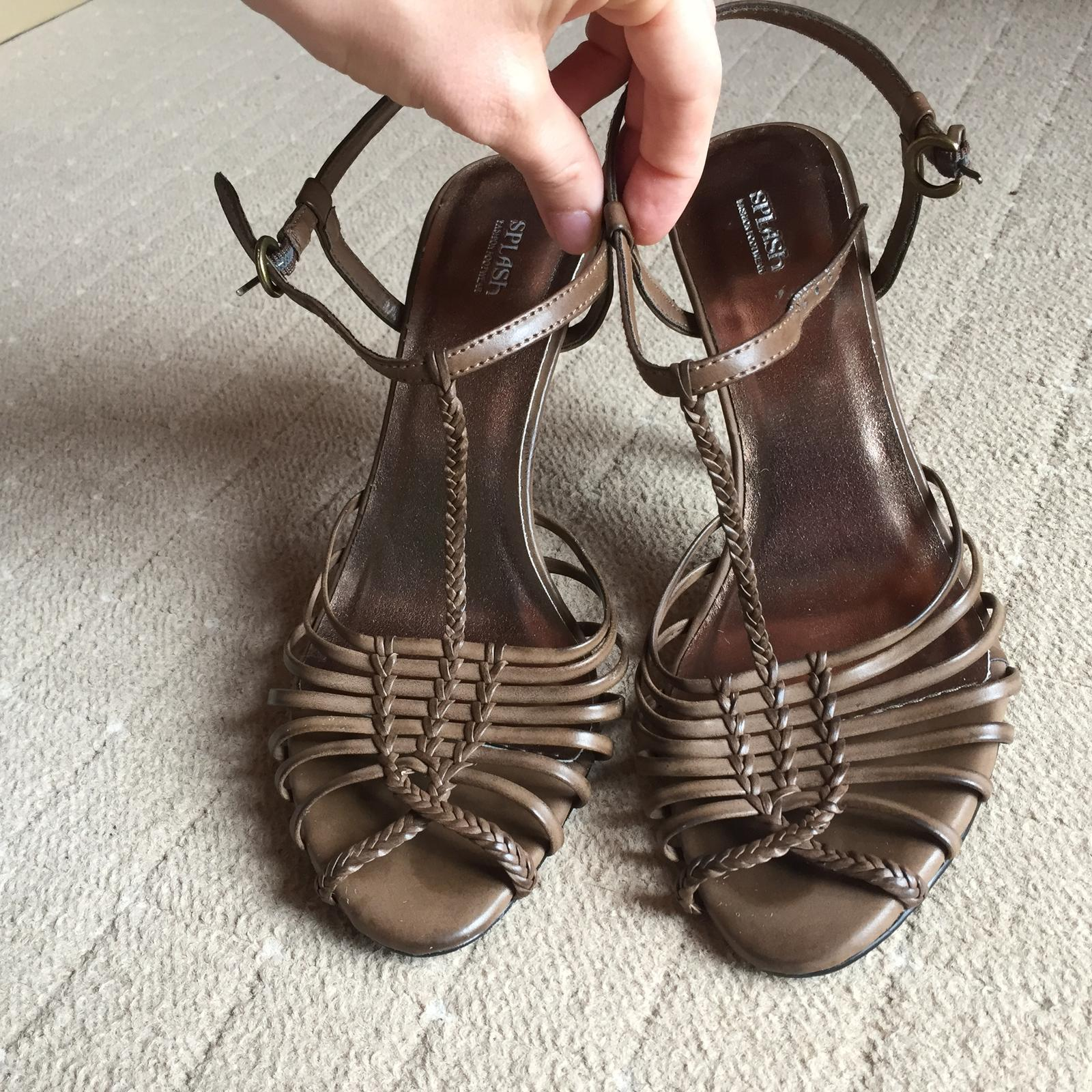 Vysoke sandalky - Obrázok č. 1