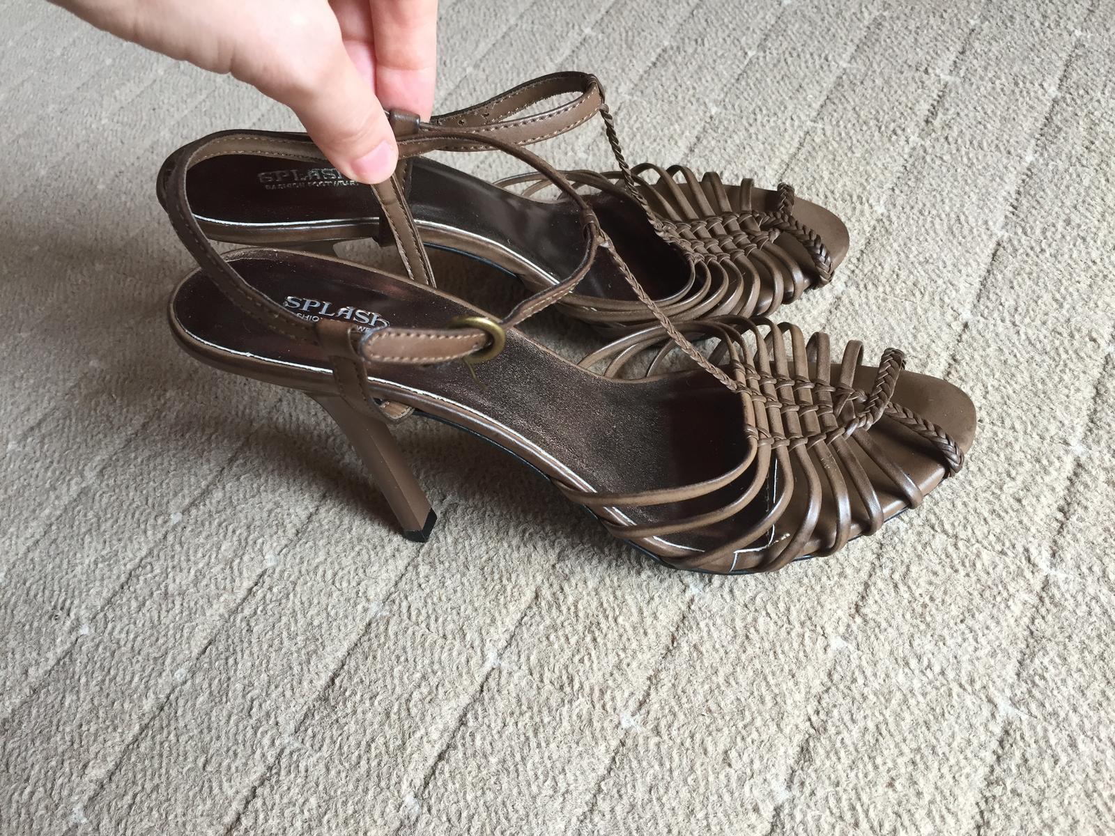 Vysoke sandalky - Obrázok č. 3