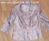 suknovy kostym s 3/4 rukavmim, c.38, 38