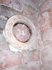 detail starého komínu