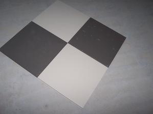 Rako Object série Taurus Color v barvách 07 Dark Grey a 11 Extra White
