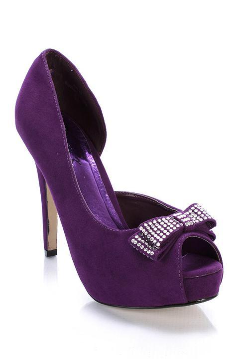 Hledám fialové boty s nízkým podpatkem - Obrázek č. 19
