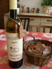 víno pro hosty na rautu