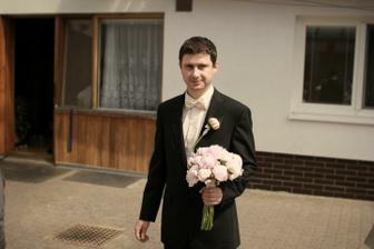 Ženich čeká na nevěstu... :-)