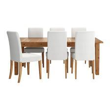 stol do jedálne a čalunené stoličky, poťah bude v inej farbe