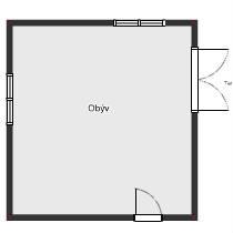 Nevieme ako rozdeliť obývačku na jedálenskú časť a obývaciu časť...