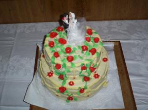 Naša svadobná torta 2