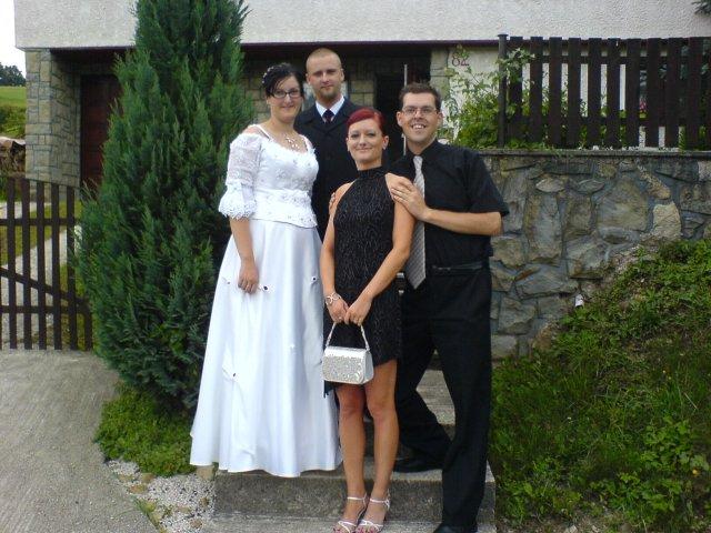 Andrejka a Števko - ako to dopadlo.. - Vyskúšali sme si to na svadbe Števkovej sestry Ninky.