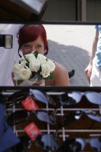 Andrejka a Števko - ako to dopadlo.. - Voňavé ruže..