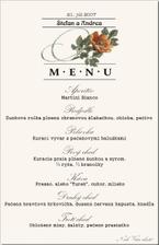 Vymysleli sme si menu.