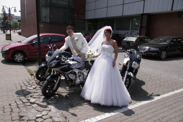 Andrejka a Števko - ako to dopadlo.. - konečná podoba nevesty a ženícha.