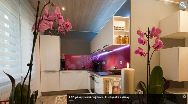 Kitchen - já tam tu růžovou prostě dám