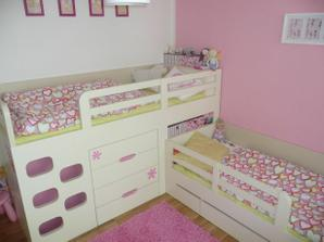 dobře řešená postel