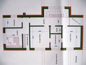 horní patro je jisté - líbí se mi pokoje dětí spojené koupelnou a naše oddělená část