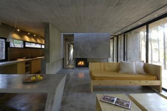 pohledový beton - bude asi na stropě