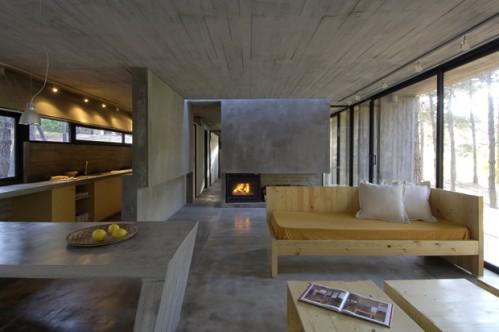 Jak by to u nás mohlo vypadat..... - pohledový beton - bude asi na stropě