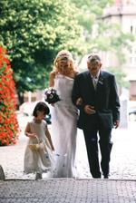 nevěsta přichází....