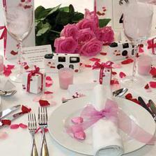 úžasná růžová tabule