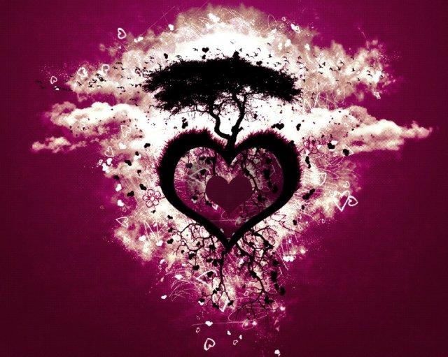 KRÁSNÉ OBRÁZKY NA SVATEBNÍ OZNÁMENÍ - Nějaká planetka lásky asi :-)