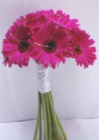 Svatební tabule + svatební účesy - inspirace - Gerberky budou na svatebním stole - jůůů