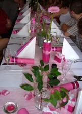 dekorace stolu - pujceno