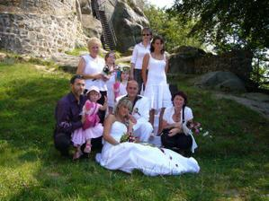 Velká rodinná - jsme to krásně sladění že? :-)