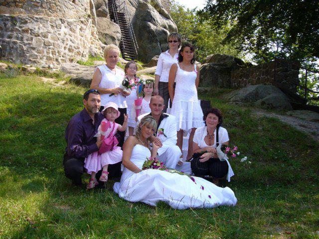 ♥ Jitka Kršková{{_AND_}}Martin Růžička ♥ - Velká rodinná - jsme to krásně sladění že? :-)